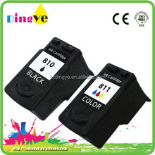 For canon MP 245, 258 original printer refillable ink cartridge for canon pg-810 cl-811