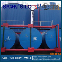 SRON Diesel Skid Tank/We Only Produce Silos and Tanks