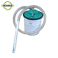 pneumatic vacuum cleaner cleaning off water,oil,bottom sludge