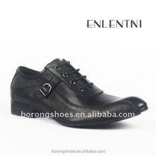 Guangzhou factory men leather shoes the best price