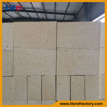 High temperature fireproof material fire clay and high alumina brick used for coke oven chimney