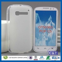 C&T Hot Mobile Phone TPU Case Cover For Alcatel One Touch Pop C5 OT-5036D