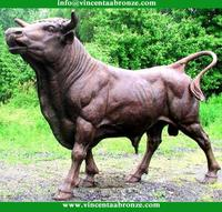 Quality Products bronze small bull sculpture