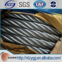 Steel wire rope,ungalvanized and galvanized steel wire ropes 1mm-60mm