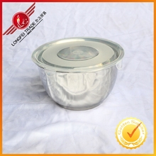 Stainless Steel Finger Bowl/Hand Washer Bowl/Food Container With Plastic Lid