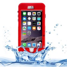 New Design Link Dream Waterproof Protective Case with Lanyard for iPhone 6 Plus