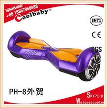 Stand up avec belle couleur scooter électrique newtons cradle balance balls