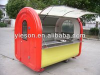 best price mobility food cart/mobile food car for sale/food service trolley
