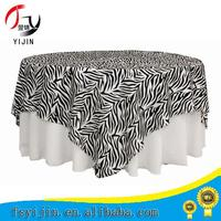 Chinese factory manufacture spandex round stretch table cover