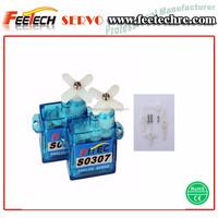 Feetech/Fitec FS0307 0.6kg micro 3.7g servo motor for mini rc airplane