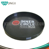 Promotional serving tray, plastic beer tray,round bar tray