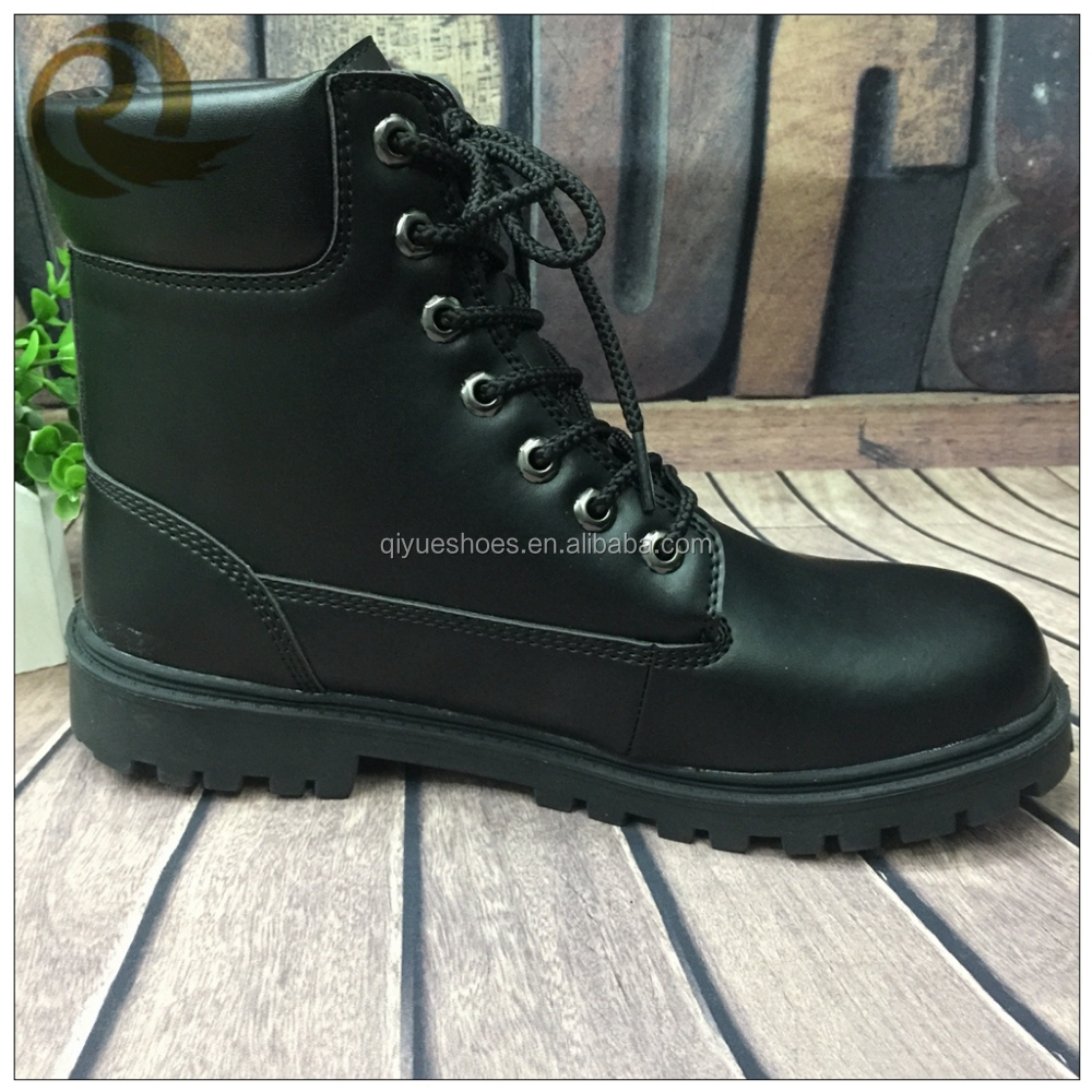 wholesale black genuine leather new durable cheap combat