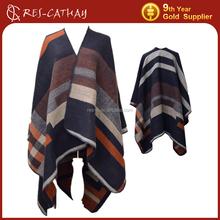 lady jacquard winter shawls and wraps