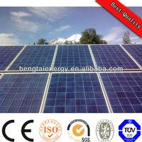 61215IEC TUV CE hitech mono solar panel250w 60m