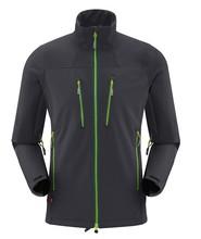 outdoor hiking waterproof windproof softshell jacket for men