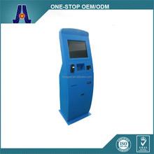 floorstanding touch screen terminal payment kiosk for self payment (HJL-3653)