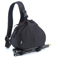 Waterproof professional padded shoulder camera bag