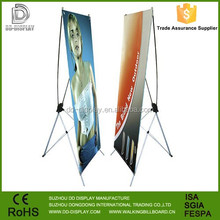 Portable aluminum x banner stand, Economic X stand, X stand banner
