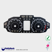 Auto Meter for KYMCO Weathering quality PC/PMMA Dial Face