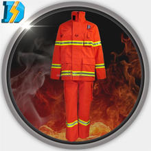 aluminized fire suit 3000 farenhad with 200gsm Aramid reflective tape, Anti-Static