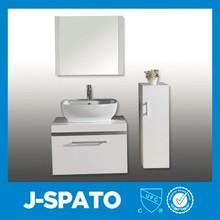 2015 moderno cuarto de baño muebles de acero inoxidable de pared baño modelo gabinete for JS-9009
