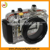 2013 New Camera 14-42mm Focusing Diving bag video camera Waterproof bag Waterproof case black color For Panasonic GF2