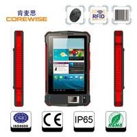 Android CE and IP65 UHF RFID (900MHZ) reader (1m)Tablet pc filled 2D barcode scanner built-in wifi,bluetooth,GPRS,GSM/GPRS,3G/4G