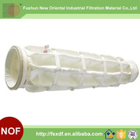 Polyester non woven fabric fiter bag for zinc lead sintering machine head