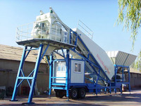 small mobile concrete batch plant for sale