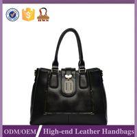 Premium Quality Custom Logo Pu Leather Hand Bags