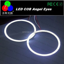 COB Ring Angel Eyes easy installed on any vehicle as an accent for project headlights