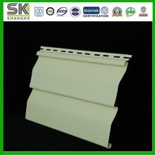 PVC Exterior Clapboard Wood Grain Vinyl Siding Panel Dutch Lap