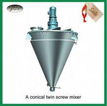 helical ribbon vacuum cosmetic mixer
