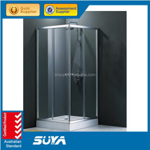 New design aluminium frame shower rooms