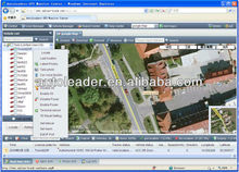 fleet management gps tracking locator software with Google map