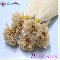 Hotselling hot style factory price silk strand hair extensions