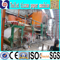 HOT SALE Automatic New Waste Toilet Paper Making Machines,machine making tissue paper