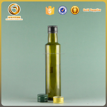wholesale high quality round shape 250ml olive oil bottles