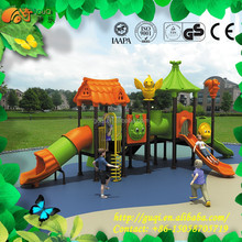 Hot Selling Amusement Park Play Center Playground Equipment, Colorful Slides, Kids Lovely Outdoor Climbing GQ-051-A