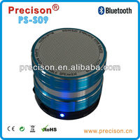 2015 Bluetooth portable speakers wireless with led light