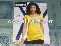 ESMARA Brand Ladies S/S Print T-SHIRT