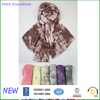 Vintage Tie Dyed Shawl Wholesale Viscose Wrap Lady Oblong Scarf