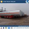 40cbm gasoline petroleum tanker trailers