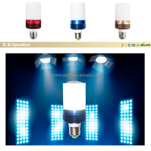 new products led light with bluetooth speaker for home audio