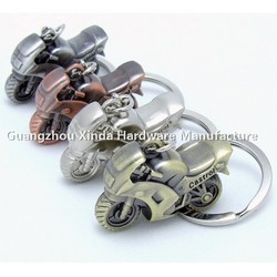 Best Motorcycle parts tourist gift ,Mini zinc alloy coloufull motorcycle keyring