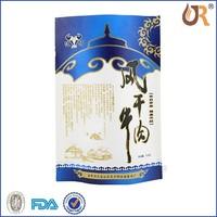 Custom laminated NY+CPP material resist high temperature snack food bag