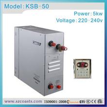 Familia Conservación de energía 5KW220 / 240V50 / generador de turbina 60hz de vapor certificación CE venta 2 años de garantía