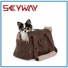 Soft travel dog carrier bag