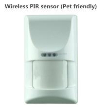 Animal inmunidad inalámbrica PIR sensor de movimiento con antena interna