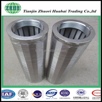 corrosion resistance Stainless steel wedge filter Self-cleaning filter Wedge wire filter